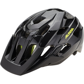 Alpina Anzana Helmet black-neon-yellow